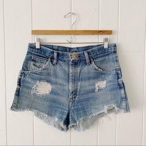 Vintage Distressed Jean Short